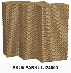 "Replacement Pads for 16"" (24"" x 12"" x 6"") and Jetstream 1600 Fan Models - SET OF 3 PARKULJ24000"