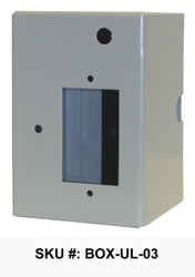 "Electrical Box Housing for Variable Speed Fans 16"", 24"" and 36"" (SKU: BOX-UL-03)"