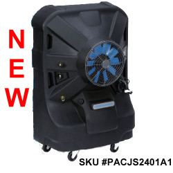 "16"" Portacool Jetstream™ 240 Portable Evaporative Fan - PACJS2401A1 - 4,500 CFM - 1,125 sq. ft."