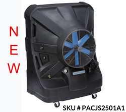 "NEW 24"" Portacool Jetstream™ 250 Portable Evaporative Cooler - PACJS2501A1 - 8,500 CFM - 2,125 sq. ft."