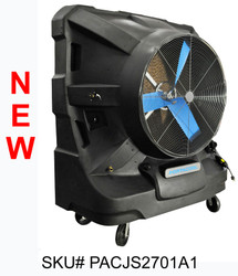 "NEW 48"" Portacool Jetstream™ 270 Portable Evaporative Cooler - PACJS2701A1 - 22,500 CFM - 5,625 sq. ft. - 22,500 CFM - 5,625 sq. ft."