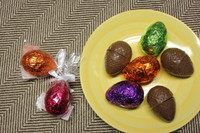 Foiled Easter Eggs-Set of 3