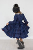 Infant Toddler & Kids Navy Tatiana Dress