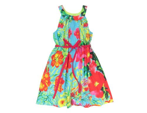 Sample Sale St. Tropez Print A-line Dress