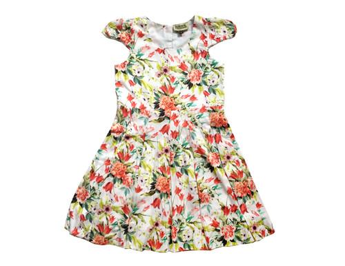 Sample Sale Victoria Print Pleated Dress Size 6