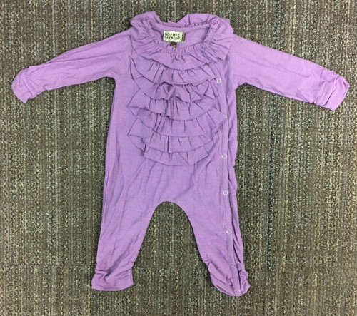 Sample Sale Purple Baby Coverall