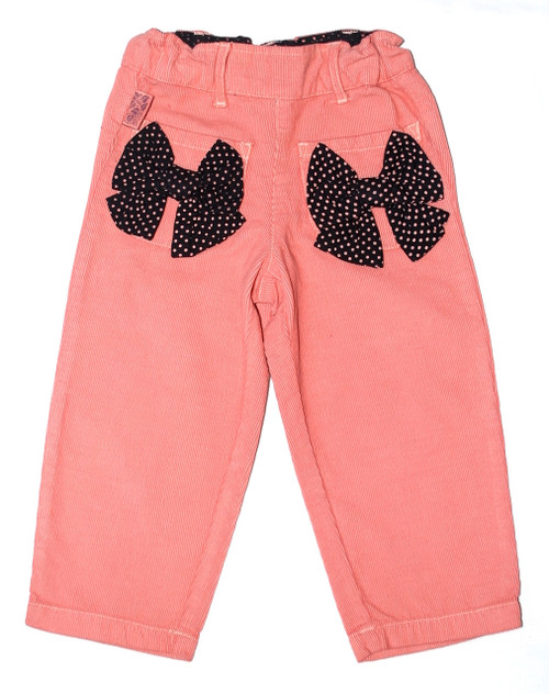 Sample Sale Pink Corduroy Pants-Size7/8Y