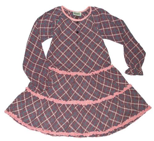 Sample Sale Raisin Long Sleeve Dress