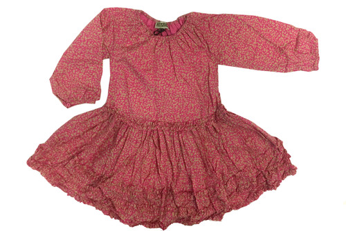 Sample Sale Pink Squash Dress
