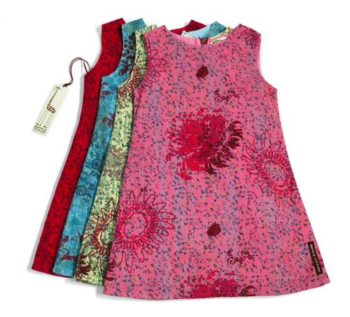 Sample Sale Teal Printed Dress