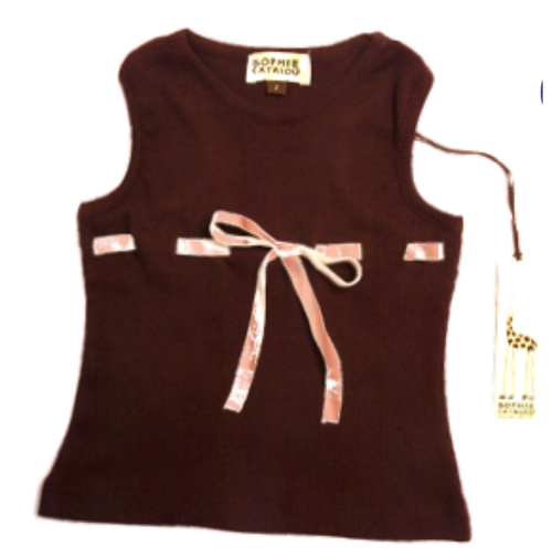 Sample Sale Chocolate Tank