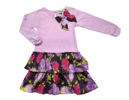 Sample Sale Lavender Milena Drop-waist Dress