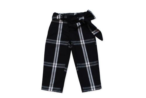 Sample Sale Black and White Plaid Pants