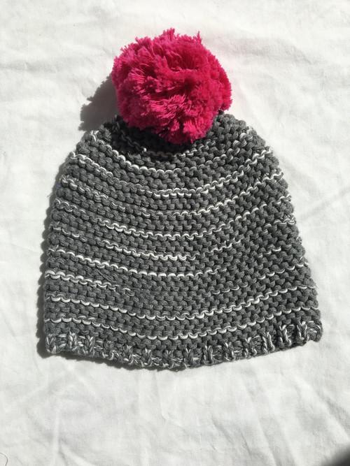 Sample Sale Chunky Gray Hat