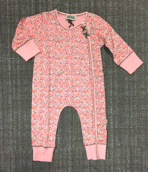 Sample Sale Blush Printed Knit Romper