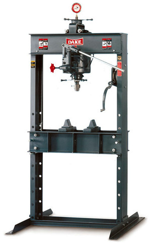 Dake 50H 50 Ton Hydraulic Press - Hand Operated