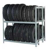 """Rivetier R2-2DES 5' x 3'6""""' x 5' Automotive Tire Rack Starter"""