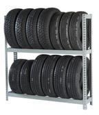 Rivetier R2-2SES 5' x1' x 5' Automotive Tire Rack Starter