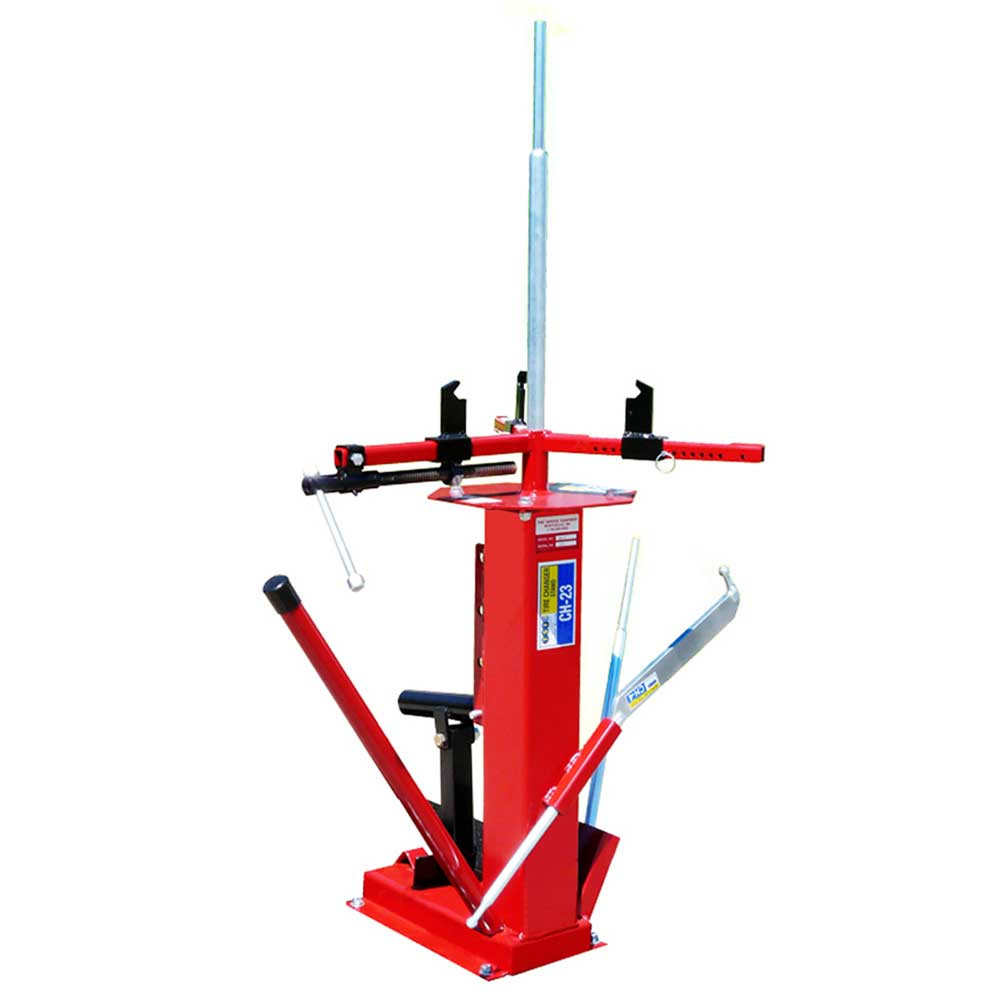 Motorcycle Tire Spoons Buy the TSI CH 22/23 Tire Changing Station | Mile-X Equip