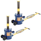 Hein-Werner Pair of 10 Ton Air Jacks