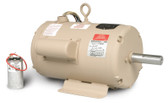 Baldor UCLE570 5-7 HP 3450 RPM Single Phase TEAO Grain Dryer Vane Axial Fan Motor