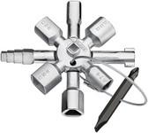 Knipex 001101 Twin Key Universal Control Cabinet Key