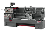 """Jet 321502 16"""" Swing 60"""" Centers With Newall DP700 DRO, Collet Closer and Taper Attachment"""