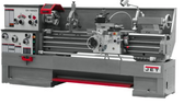 """Jet 321452 18"""" Swing 60"""" Centers with Newall DP700 DRO and Taper Attachment"""