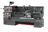 """Jet 321557 18"""" Swing 60"""" Centers with Newall DP700 DRO, Taper Attachment and Collet Closer"""