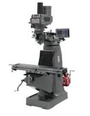 JET 690125 JTM-4VS Mill, 3 Ph, ACU-RITE 200S DRO, Power Draw Bar and X-Axis Powerfeed
