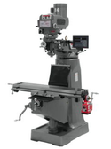 JET 691087 JTM-4VS-1 Mill, 1Ph, Newall DP700 DRO and X-Axis Powerfeed