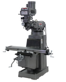 JET 690158 JTM-1050 Mill with 3 Axis ACU-RITE 200S DRO (Quill) and X-Axis Powerfeed, 3HP, 3Ph