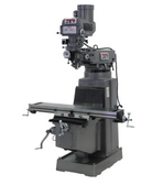 JET 690159 JTM-1050 Mill with 3 Axis ACU-RITE 200S DRO (Quill) and X and Y-Axis Powerfeed