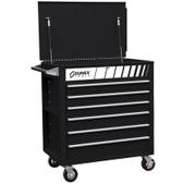 Sunex 8057BK Black Service Cart