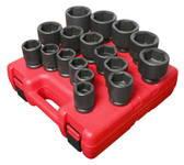 "Sunex 3/4"" SAE Heavy Duty Impact Socket Set"
