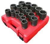 "Sunex 3/4"" Heavy Duty Impact Socket Set | Metric"
