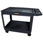 Sunex Black Large Plastic Utility Cart