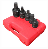 """Sunex 4405 3/4"""" and 1"""" Dr. 5 Pc. Adapter and Universal Joint Impact Set"""
