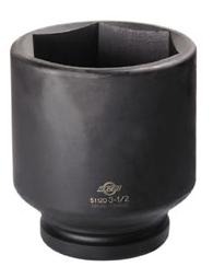 """Sunex 5112D 1"""" Dr. 3-1/2"""" Deep Impact Socket"""