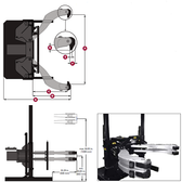 Posi Lock PH-200T Hydraulic Puller 200 Ton
