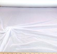 Discount Fabric  Chiffon  Snow  White  108 inches wide !!!  Tr100