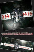German Cross Baseball Bracelet
