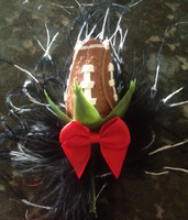 Football Rose Boutonnière