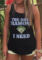 The Only Diamond I Need Baseball Tee