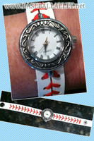 Baseball Strap Watch