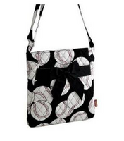Quilted Baseball Handbag