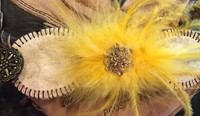 Lifetime Baseball Corsage in Yellow