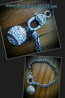 Baseball / Softball Toggle Bracelet