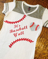 It's Baseball Y'all Seams Tee