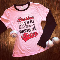 Brother Lovin' Baseball Sister Tee